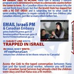 .@guardian S.O.S Pls FLOOD Israeli PM & .@CanEmbIsrael #FreeHanaGan & 2 boys #trappedinIsrael http://t.co/AMrbQHeiJC  http://t.co/kxI8ypklei