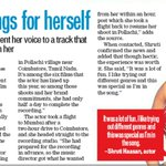 RT @Bazinga_Ent: . @shrutihaasan aces her song recording for #Gabbar in one hour! Find out more via @htcafe @shaallwe http://t.co/Ijd230HpB4