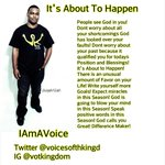 RT @VoicesOfThKingd: @terrellowens It's About To Happen #IAmAVoice http://t.co/MUhlaCweHq