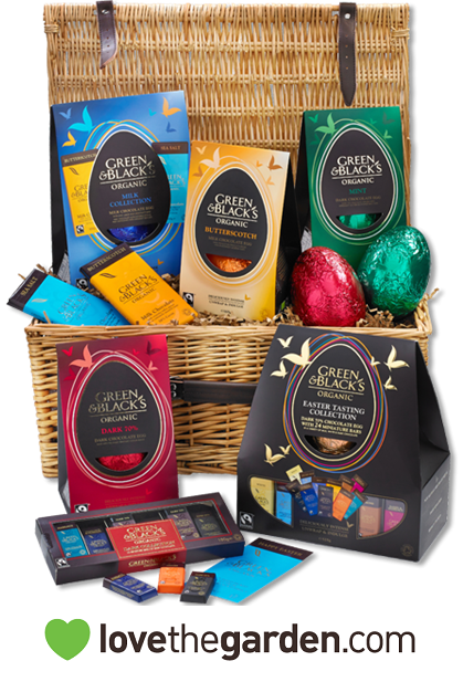 Follow & RT to win this fantastic Green&Blacks Easter Egg Hamper! Ends 30/3/15 #RTtoWin #Easter #Egg #Competition http://t.co/ciYk9J6pYZ