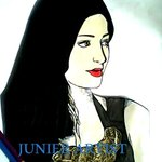 RT @junierartist: A art work of shruti mam made by me http://t.co/yEx5aCbQyP