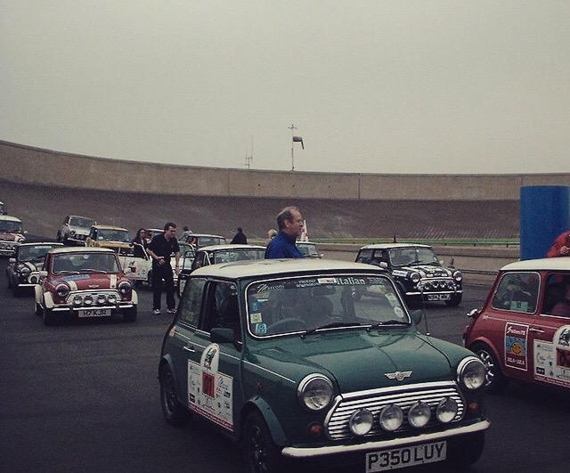 The fous rooftop test track as featured in the 1969 #Italian job #italianjob @britishminiclub @BoxHillMiniClub @mini http://t.co/PLsHJlDgQJ