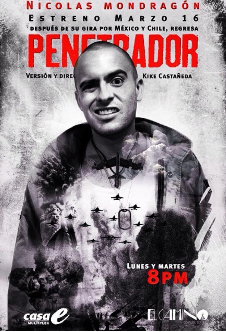 #Estreno Historias de guerra que los hombres no quieren contar #PENETRADOR hoy 8PM en @CasaE_. http://t.co/bWapkk2iq9