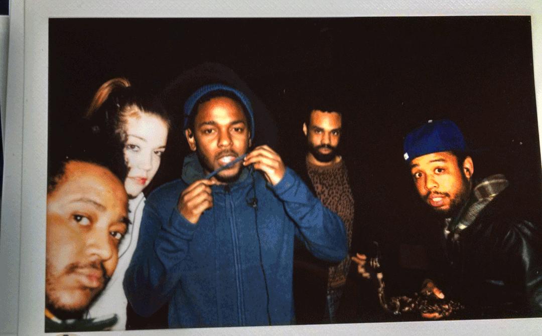 """@annathewise: Thundercat, Anna Wise, Kendrick Lamar, Bilal, Terrace Martin #topimpabutterfly http://t.co/hEkn0g2rIw"""
