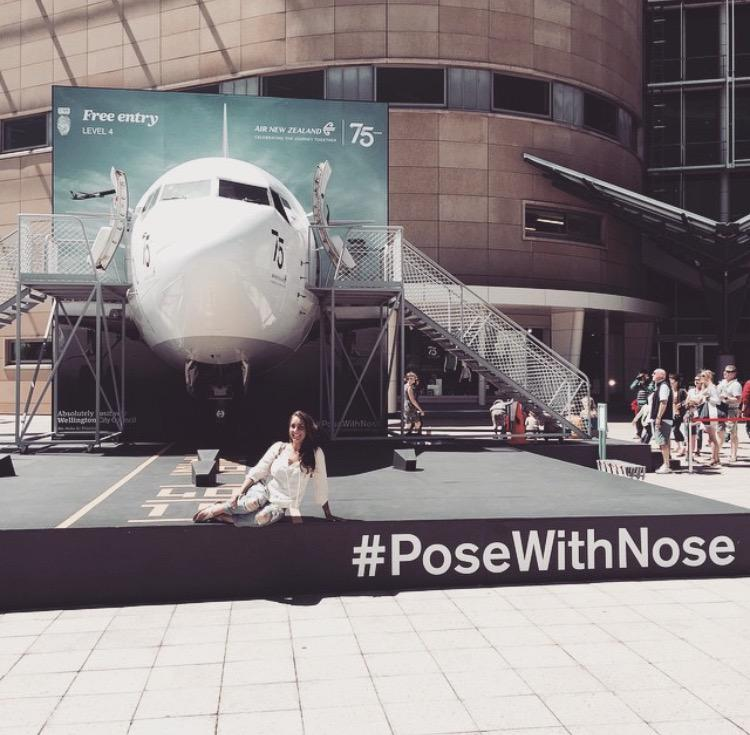 Be sure to share your snap with our 737 nose on twitter or instagram with