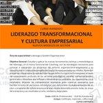 """#Acarigua,#Araure: Curso avanzado """"LIDERAZGO TRANSFORMACIONAL Y CULTURA EMPRESARIAL"""".., Cupos limitados #Coaching http://t.co/REeXseSECI"""