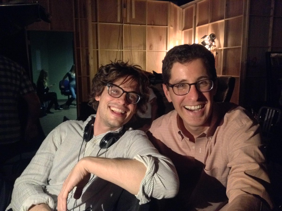 Bright smiles conceal a dark episode of #CriminalMinds Ep 10-21 Day 4 of 8 with director @GUBLERNATION. http://t.co/yFRrNFgGeF