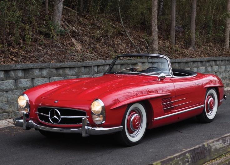 This '61 300 SL sold for $962k at Amelia Island this weekend: http://t.co/B34zw3pywZ http://t.co/BRXiLt3o9k