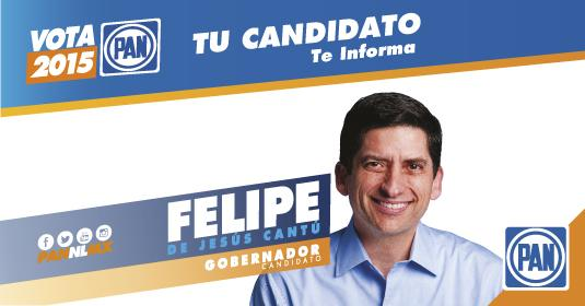 #Entérate Tu candidato a la gubernatura @FelipeCantuR  te informa. http://t.co/2h3DdyJION http://t.co/ViOwXLKgOa
