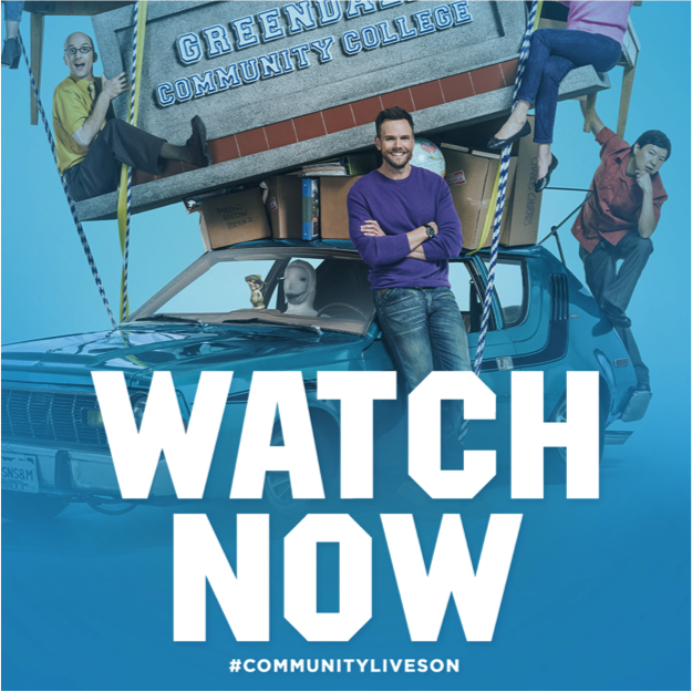 It's here. Season 6 is here.  We hope you love it as much as we do. #CommunityLivesOn http://t.co/w3mZnBntEz http://t.co/lV43FQi08M
