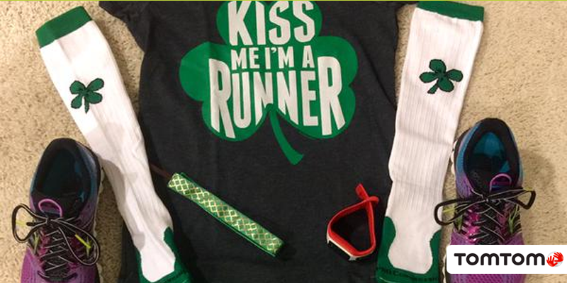 Taking the perfect #RunningKit to a whole new level! Happy #StPatricksday! #EpicWin @maxfitgirl29 http://t.co/TaXvxpfNpy