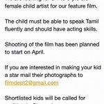 RT @dir_thiru: Casting call.. http://t.co/Vq1IPKhwbw