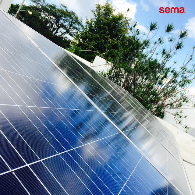 Orgullosos con nuestro primer proyecto solar junto a Panasonic  #electrosema #semaprojects http://t.co/oBMOZQaidZ