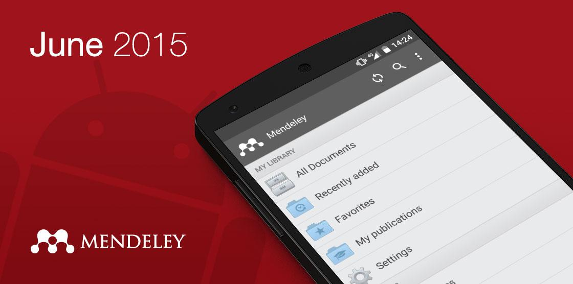 #Mendeley for #android – Launching in June! Read full details here http://t.co/lghGsTUSVC http://t.co/mTPpwkTQ6Y