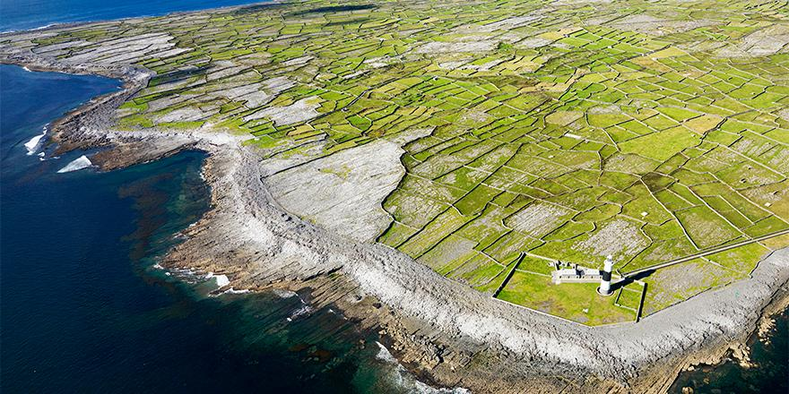 Today's Daily Escape is from the Aran Islands in Ireland St. Patrick's Day!