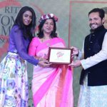 @realradikaa felicitated at the Mercedes-Benz Ritz Women of Merit Soiree in Chennai recently. http://t.co/LgSTXCkHNG