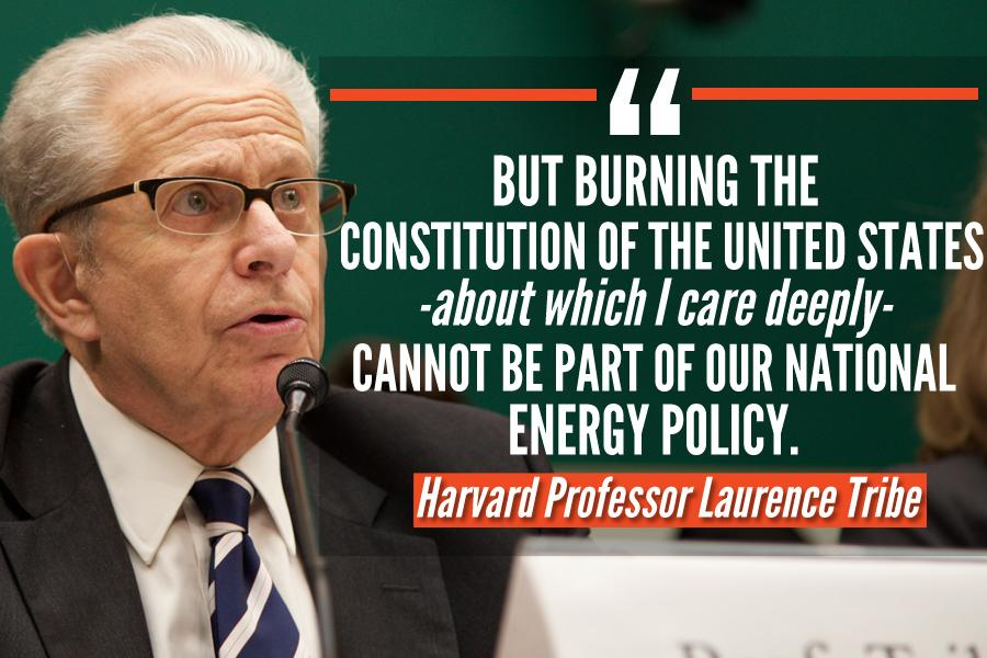 "VIDEO: Obama's Harvard Law prof likens @EPA's clean power plan to ""Burning the Constitution"" http://t.co/oSC1CvyNi1 http://t.co/Xhuk28vgKU"
