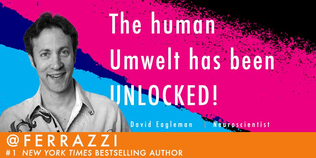 "Blown away by @davideagleman at #TED2015 this morning. If you don't know the concept of ""umwelt"" def check him out. http://t.co/kDSTM3wVnu"