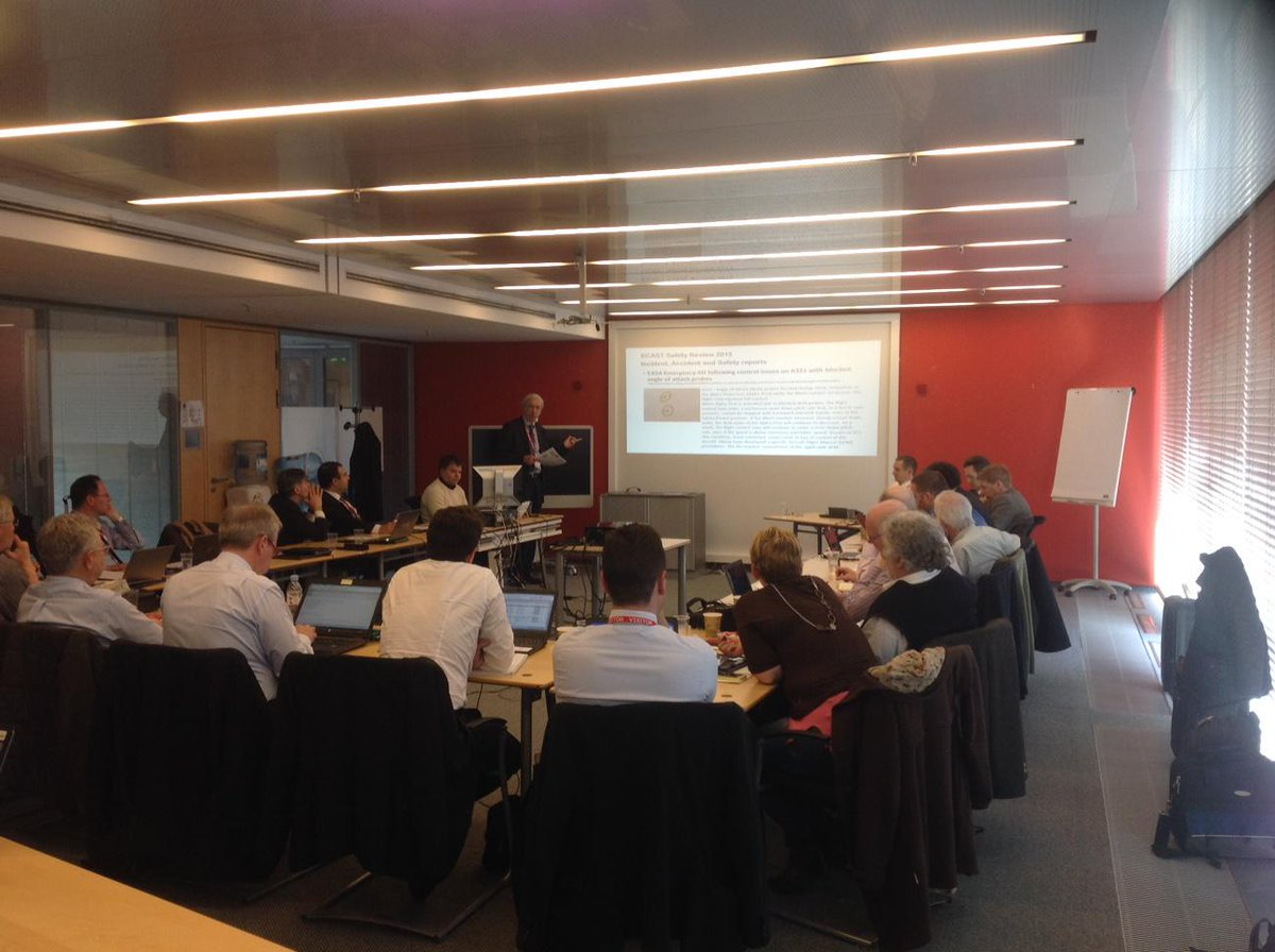 European Commercial Aviation Safety Team is reviewing its programme and addressing risks.  See