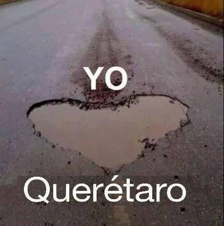 Suertudos #Baches #Querétaro #Lluvia http://t.co/75oGTvUFp8