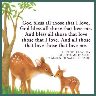 A classic #prayer from Max Lucado's Lucado Treasury of Bedtime Prayers http://t.co/QssjtNw5Xs