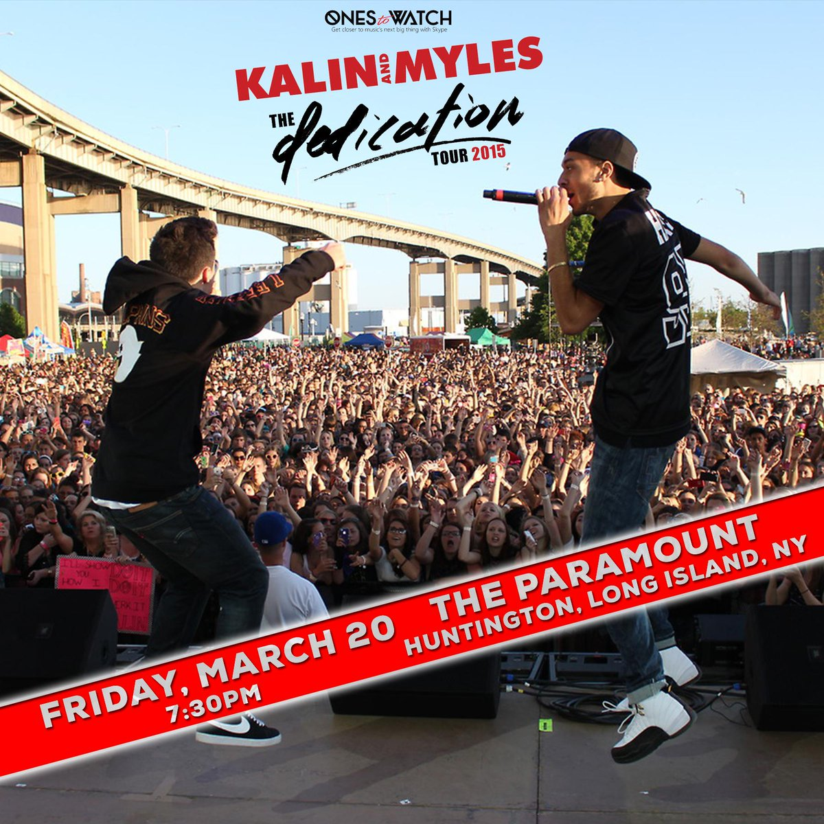 RETWEET for a chance to win 2 tickets to see @KalinAndMyles here this Friday! http://t.co/QQAihsU4AB