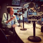 Feeling nostalgic earlier today at @WTOP Talk Radio in DC, having a great time here in Washington!