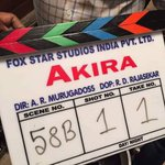 Fox Star Studios' Sonakshi Sinha starrer titled #Akira. Directed by AR Murugadoss http://t.co/cd3f231HHM