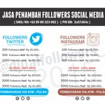 Halo @azkyramaniya PROMO untuk jasa penambah Followers Twitter/IG mulai 25rb info pin:2a57d64c,[at]djualfollowers_ http://t.co/sPSrnNzJNA