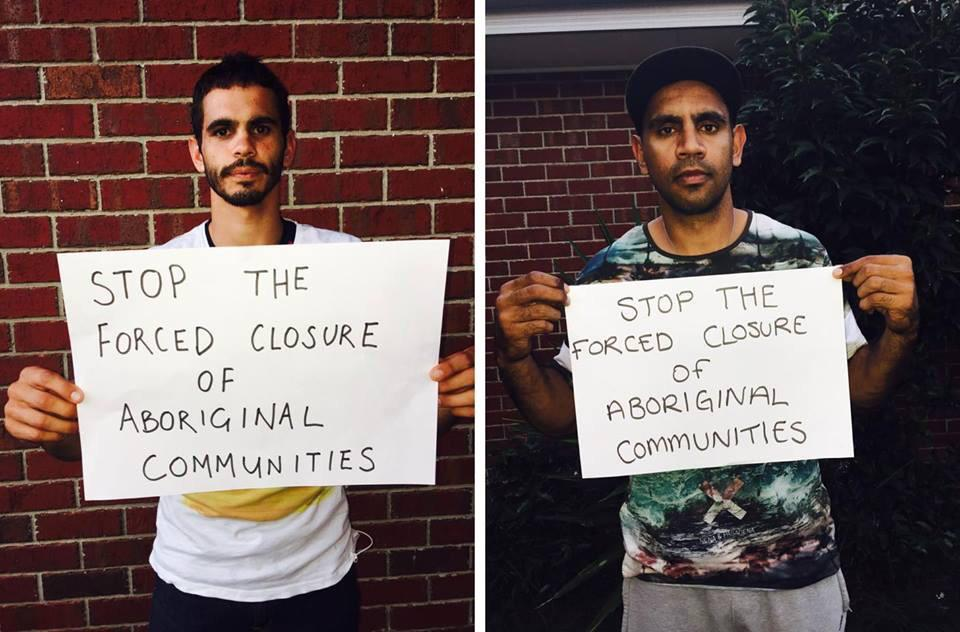 #SOSblakAustralia #LifestyleChoice MT @hearyanow: AFL players against forced closure of Aboriginal communities in WA http://t.co/sYnMQr8xgJ