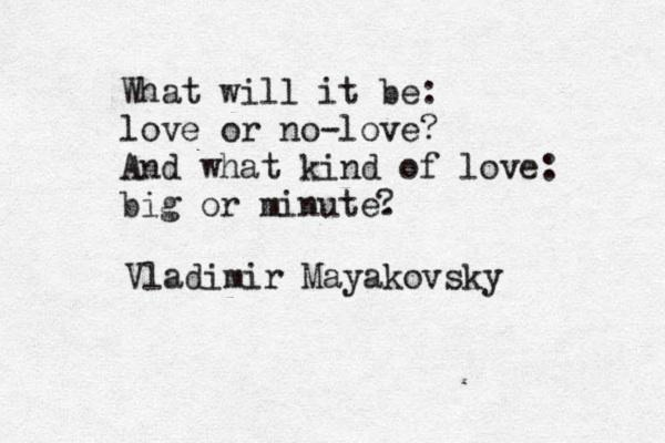 Todayu0027s Quote Of The Day Is By Vladimir Mayakovsky #ЦитатаДня #QOTD Http:/