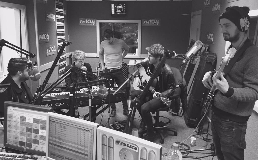 Recording with the @Kodaline gents today. http://t.co/z6uT4KkRsJ