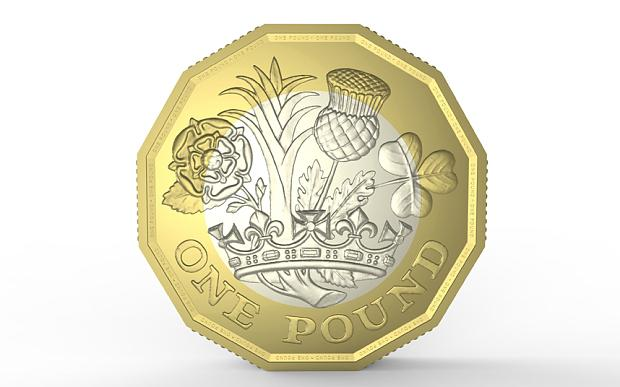 This is the new £1 coin designed by David Pearce, a pupil from Queen Mary's Grammar School in Walsall! Brilliant!! http://t.co/6mBiAkei4J