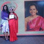 'Ilayathalapathy'@Vijaycjv's mom, Shoba Chandrashekhar was felicitated at Mercedes-Benz Ritz Women of Merit Soire. http://t.co/DsjSl8SqwG