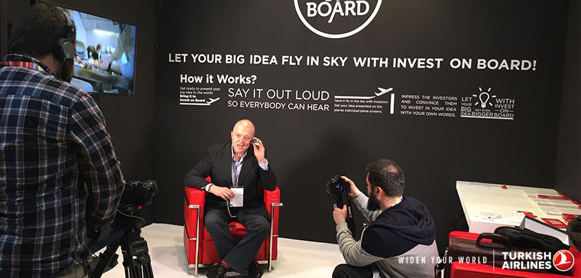 Invest on Board is at GEC2015. Please join us and let your big idea fly in the sky!