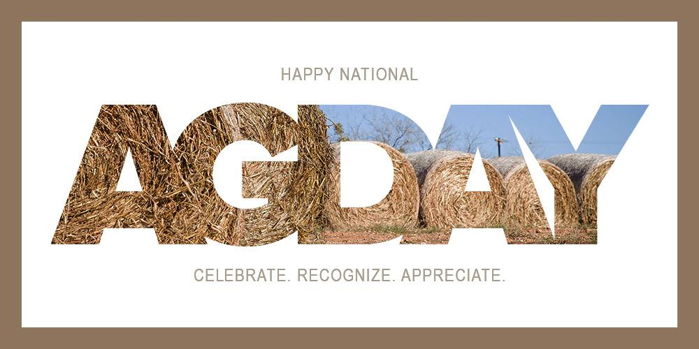 Today, we look to the hardworking men and women who define #RuralUSA. Thank you for feeding & clothing America #agday http://t.co/MHGxDE4XiS