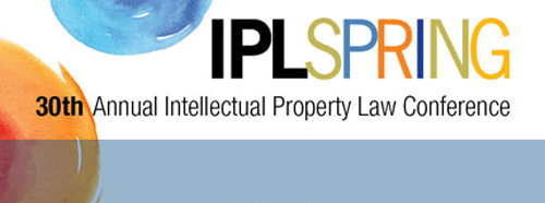 Don't miss #IPLSPRING. Next week! Register today! http://t.co/SFEfkGAGuI #patent #trademark #copyright #robots http://t.co/eisL1333yj
