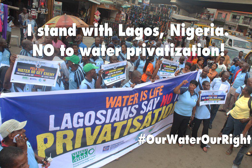 I stand with Lagos, Nigeria. NO to water privatization #OurWaterOurRight #Right2Water @followlasg @tundefashola http://t.co/FueG7ar3SJ