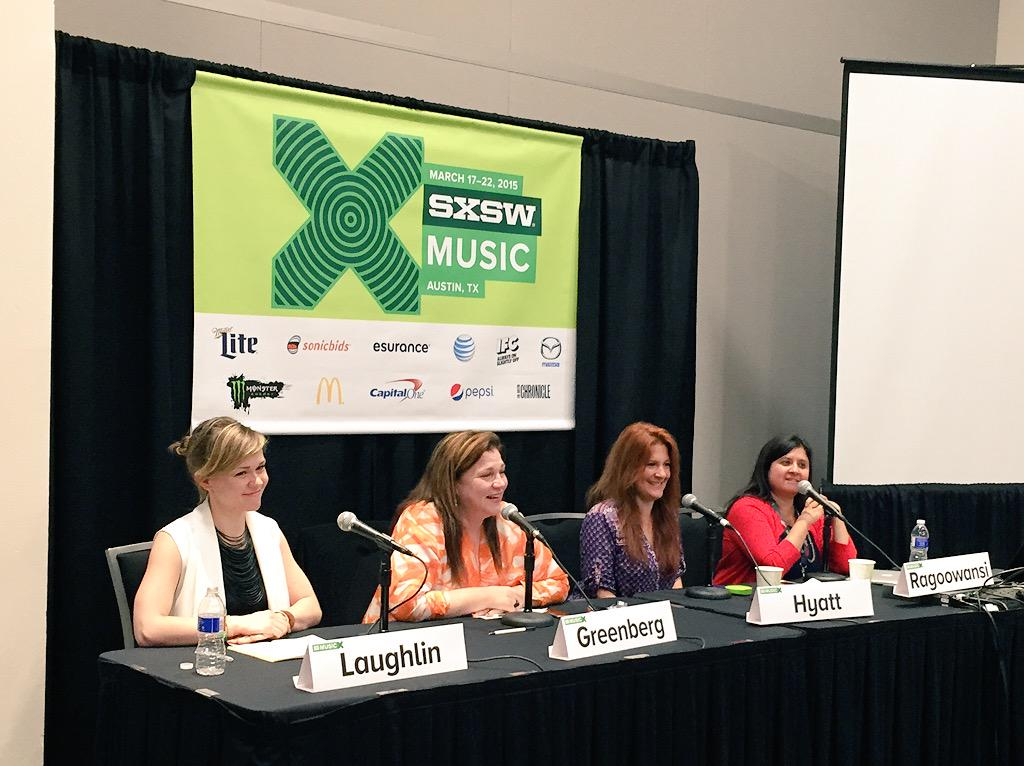 Go ladies! @cyberpr and the rise of the female entrepreneur.. #SXSW #panels http://t.co/Lxtc7wdTON