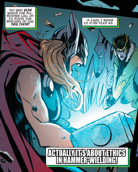 Soooo this is from today's issue of Loki: Agent of Asgard. http://t.co/PilaCgyjBy