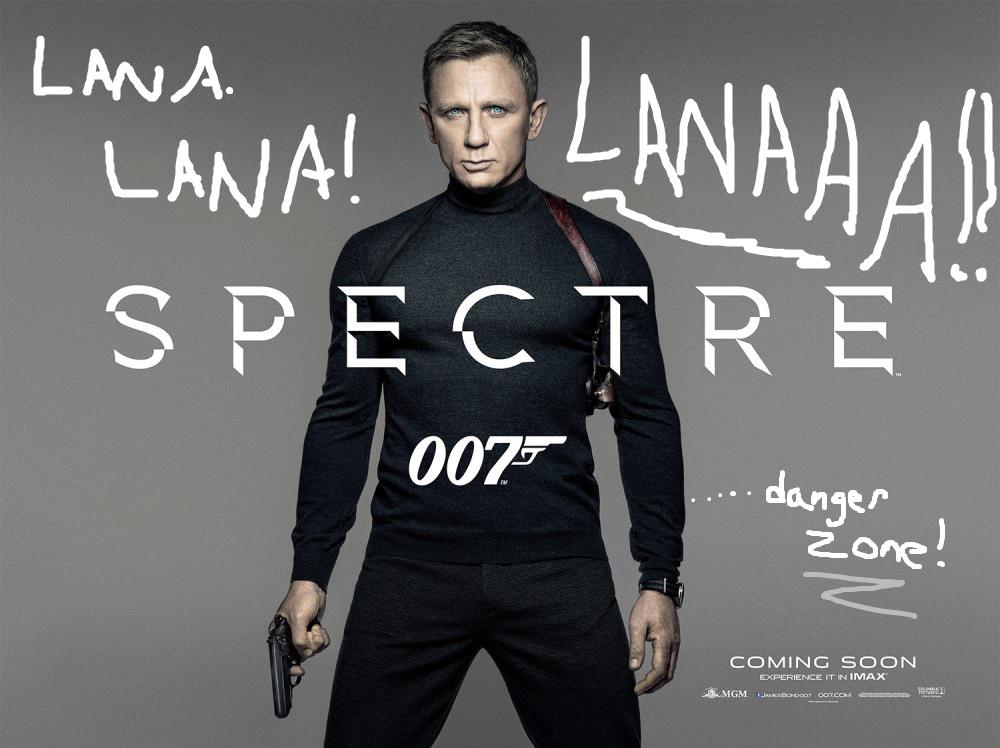 There's a new poster out for the next bond movie: Sterling Archer approves of the wardrobe. http://t.co/SQ9pAVCwlr