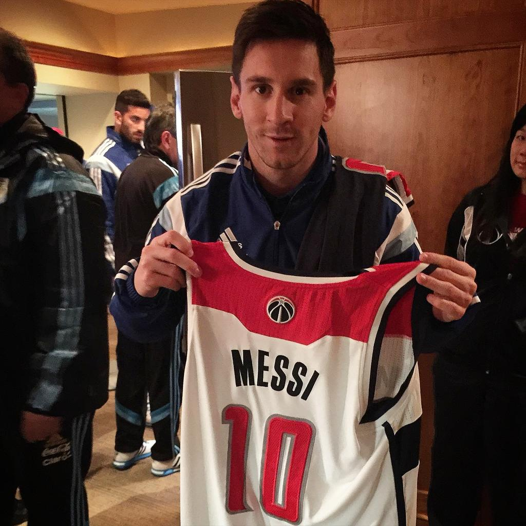 #Legend   The one and only Lionel Messi our special guest for #WizPacers http://t.co/RJJ2T0Tsim