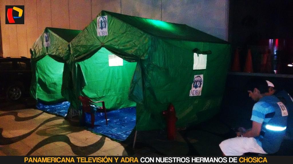 .@adraperu los espera en la Esquina de @PanamericanaTV (Av. Arequipa 1110) para ayudar a los damnificados de Chosica. http://t.co/OBLbFEirm7