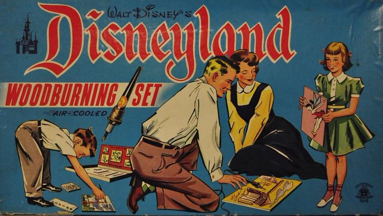 """Who wouldn't want their very own """"air cooled"""" Disneyland wood burning set! http://t.co/dutB6IA34j"""