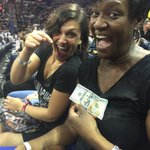 Tims BFF from college bet Tim $100 to make a 3-pointer... What a happy loss! http://t.co/x0c3OLCZVS