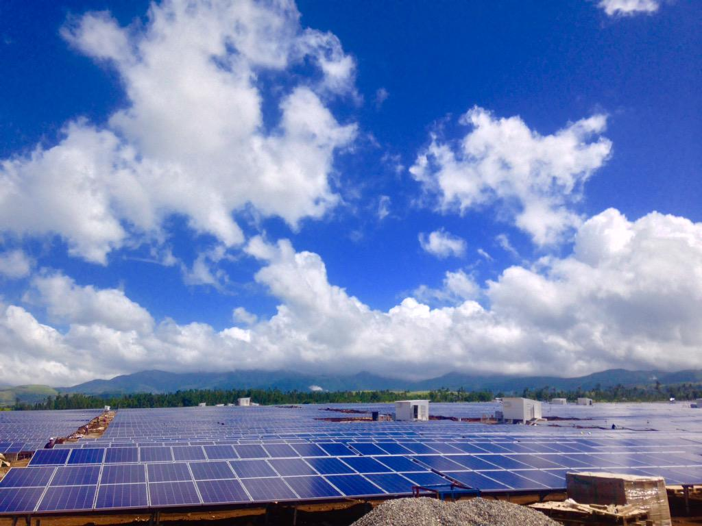 Philippine Solar Farm Leyte Biggest In Ph With 98000 Panels And Will