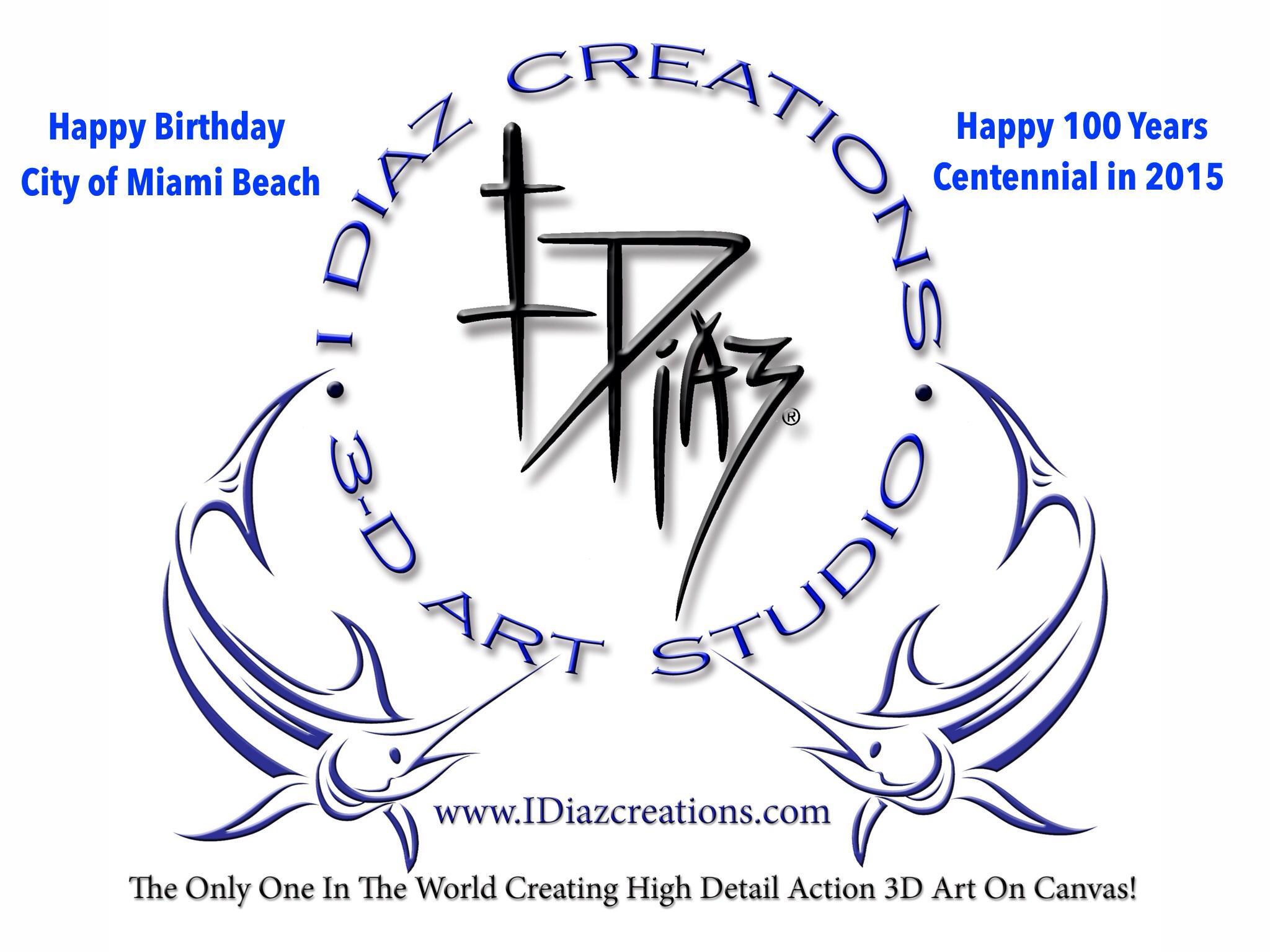 @MiamiBeach100 @idiazcreations Happy Birthday Miami Beach 100 Centennial 2015 http://t.co/0MVO8YhCu5