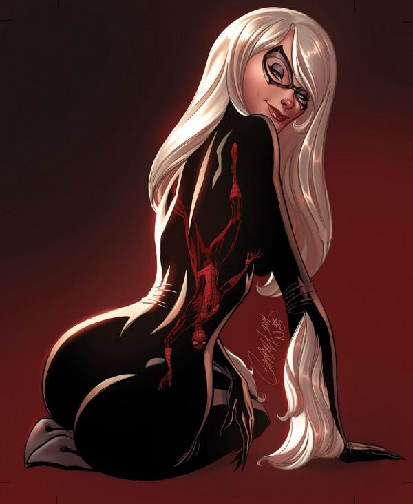 Black Cat par J.Scott Campbell #marvel #spiderman http://t.co/J2gkaDxDSb