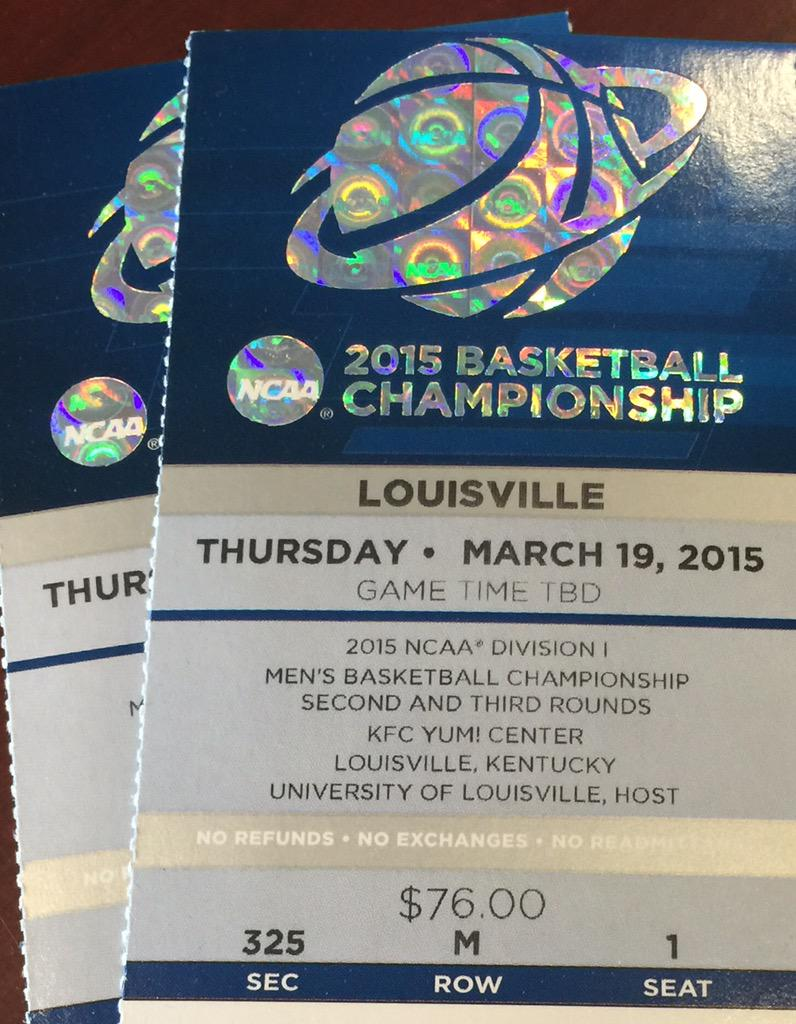 In honor of #5straight #MarchMadness appearances I'm giving away 2 tix to @UofCincy game. RT before 12 midnight. http://t.co/sg3axbpuqP