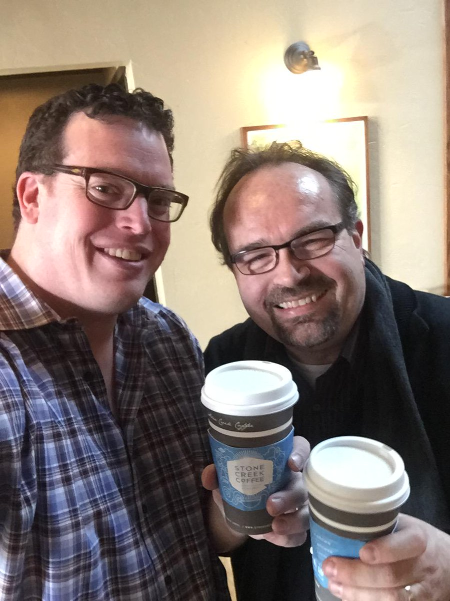 Birthday coffee with @rohdesign! http://t.co/jhERCy9gCN